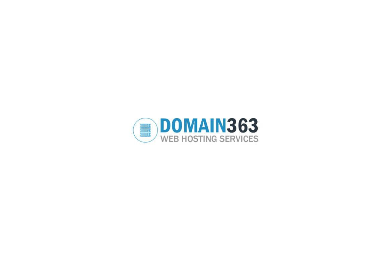 Domain363 logótervezés - Profi WebDesign