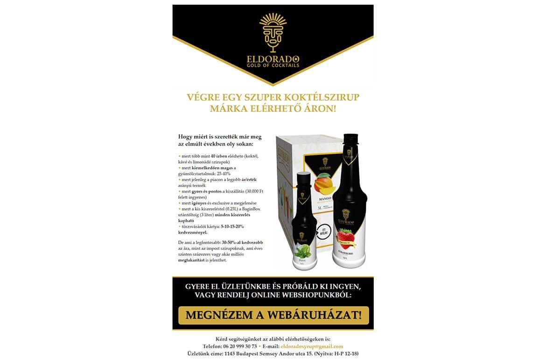 Eldorado - Gold of Cocktails hírlevél - Profi WebDesign