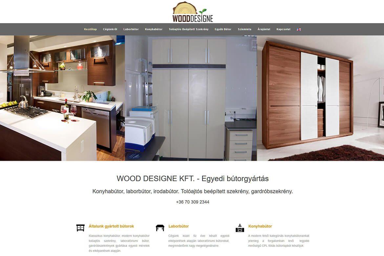 Wood Designe - Bútorgyártás egyedi méretek és elképzelések alapján
